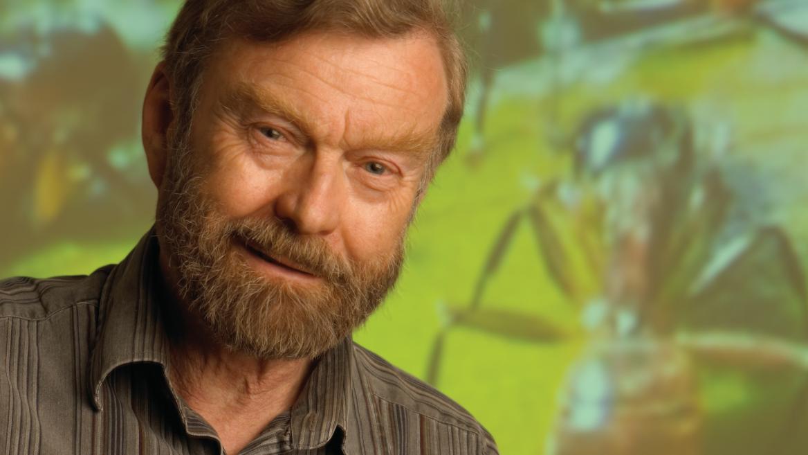 Pulitzer Prize-winning author and Regents' Professor Bert Hoelldobler